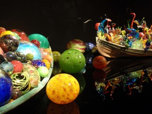 Chihuly at the de Young - Floats and Flowers