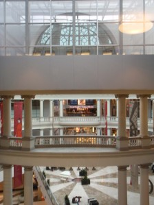 View of the shopping mall