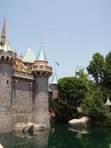 Disneyland Fantasyland Castle