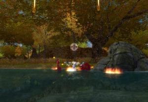 Guild Wars Prophesies Pre Searing - Fighting Bandit Blood Sworns
