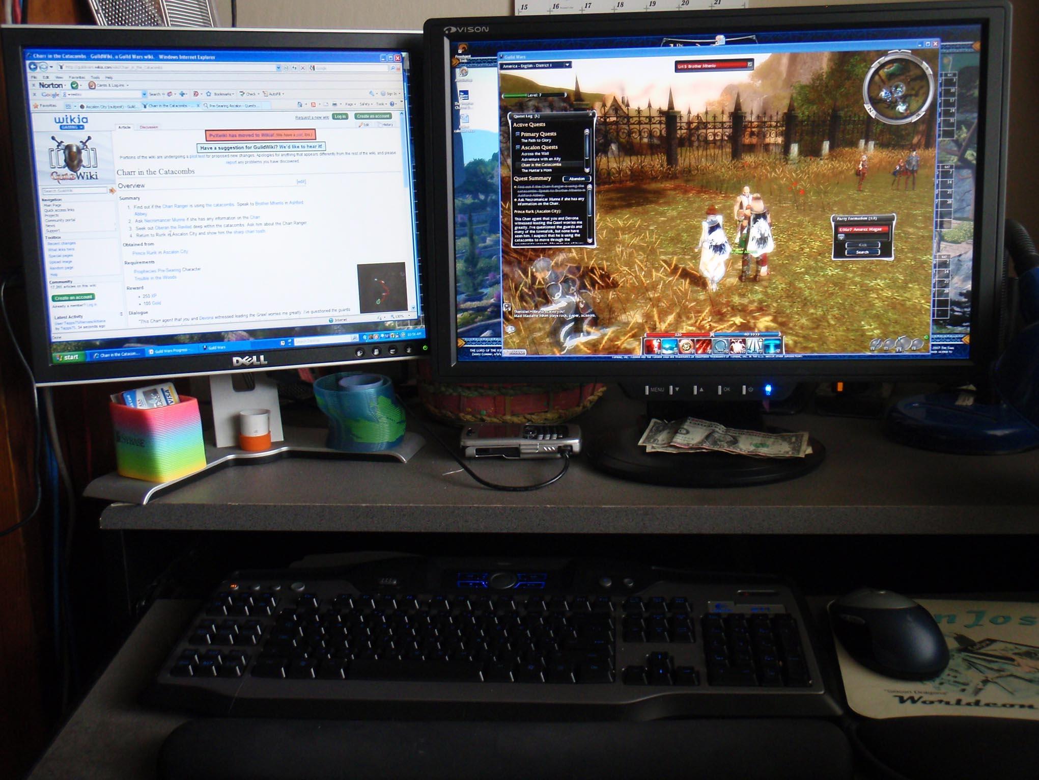how to change my desktop