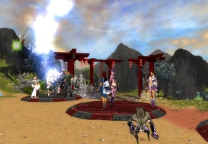 Guild Wars Festival Game, April 25, 2009