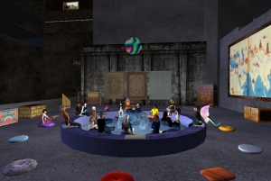 Second Life - The Silk Route Musical Journey, June 2009