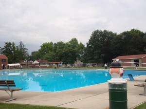 Hometown Pool, August 2009