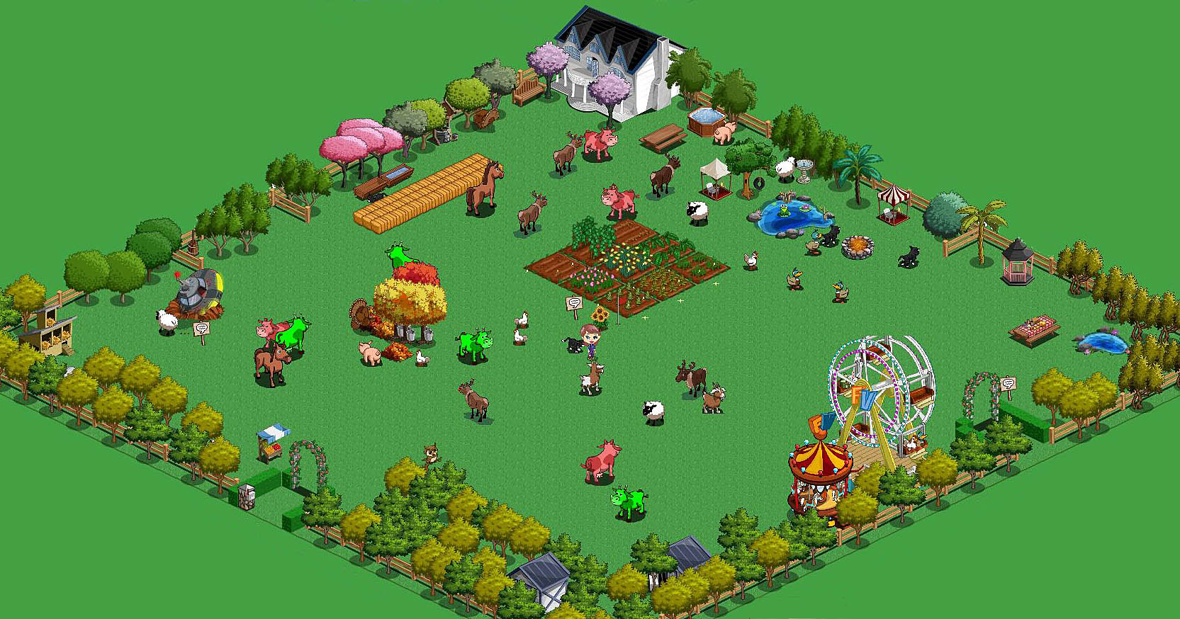 Farmville fantasy farming a spaceship a picture issues amarez feels like home for Form ville
