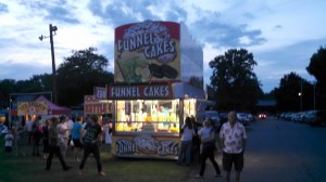 Funnel cake booth. July 2014