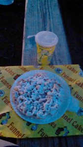 Funnel cake. July 2014